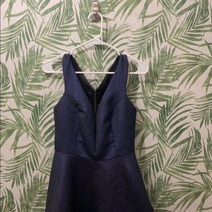 Sparkly Navy Cocktail Dress